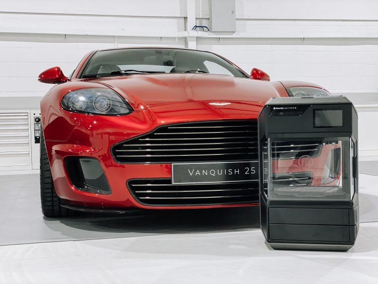 LUXURY AUTOMOTIVE AND LIFESTYLE PRODUCT DESIGNER CALLUM INSTALLS MAKERBOT METHOD X 3D PRINTER TO PRODUCE PROTOTYPES, TOOLING AND END-USE PARTS – STARTING WITH ITS ASTON MARTIN CALLUM VANQUISH 25 BY R-REFORGED