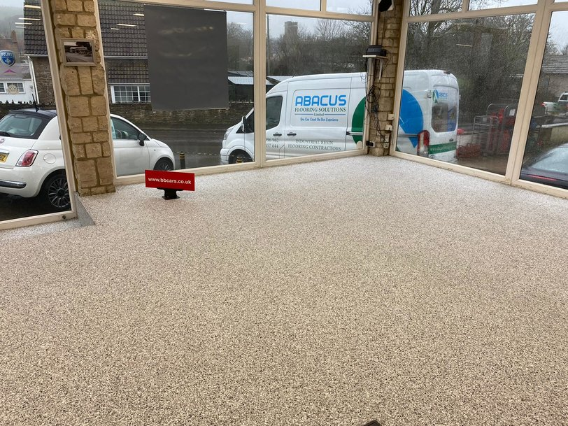 Abacus Flooring Solutions have delivered yet another transformative service for a business eager to realise the potential of a professional, value-for-money resin installation